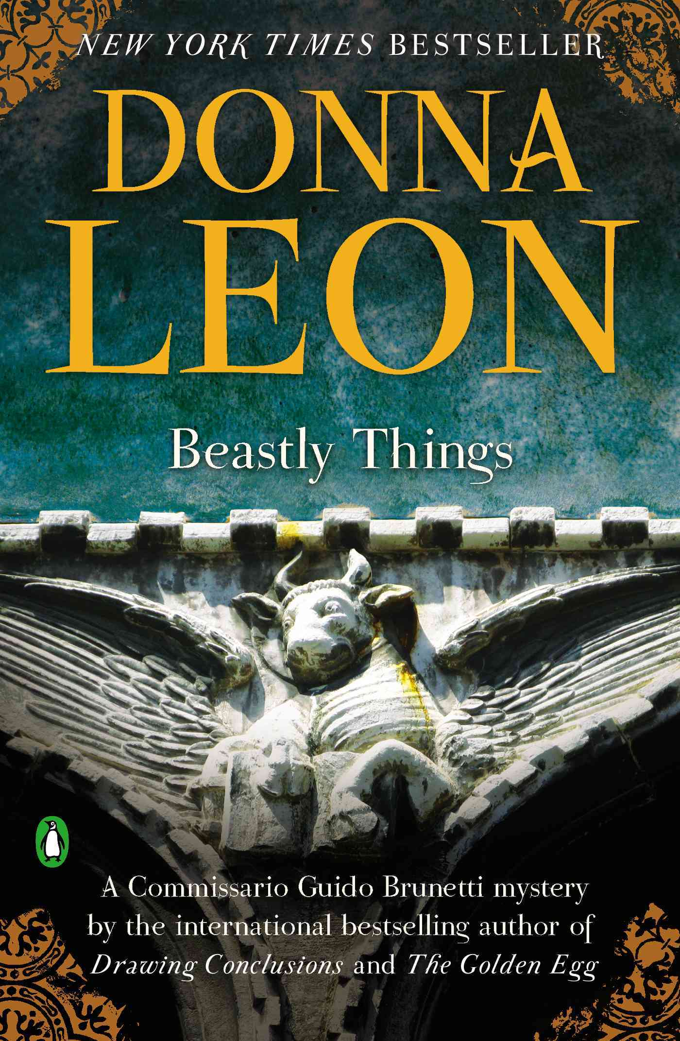 Beastly Things By Leon, Donna